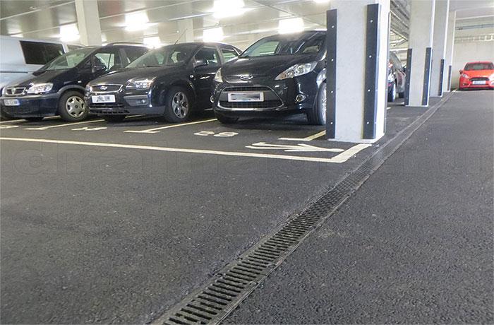 водоотвод на парковках